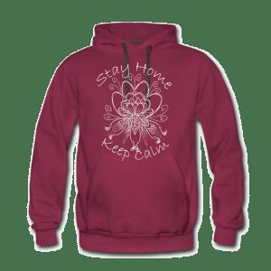 tattoo-studio-hoodie-rot
