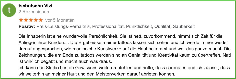 Tattoo-Studio Herrenberg, Nagold, Gäufelden und Umgebung
