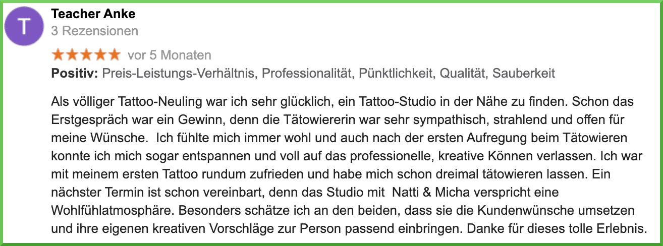 Dein Tattoo-Studio für Herrenberg und Umgebung