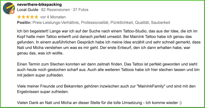 Tattoo-Studio Gäufelden und Umgebung
