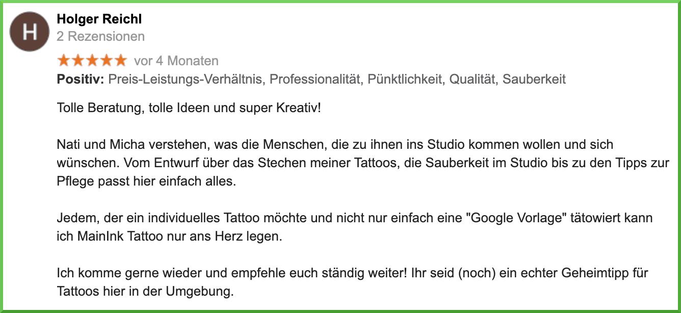 Dein Tattoo-Studio für Nagold und Umgebung